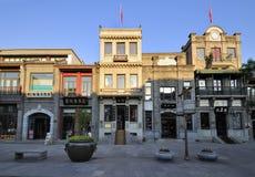 Фасад streetãBuild Пекин Qianmen коммерчески Стоковые Изображения RF