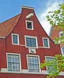 Фасад Амстердам кирпича Стоковое Изображение RF
