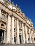 Фасад базилики St Peters Стоковое Изображение
