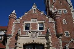 фасад богато украшенный Стоковая Фотография