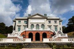 Фасад дворца Gunnebo Slott вне Гётеборга, Швеции Стоковое Фото