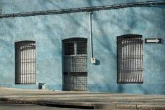 Фасад городка Монтевидео старый Стоковые Фотографии RF