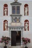 Фасад главного здания стоковое изображение