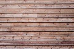 Фасад деревянного дома Стоковое Изображение RF