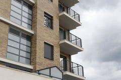 Фасад жилого дома Стоковая Фотография