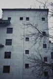 Фасад жилого дома Стоковое фото RF