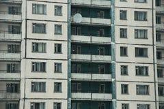 Фасад жилого дома Стоковая Фотография RF
