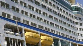 Фасад заатлантического в порте Стоковые Изображения