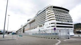 Фасад заатлантического на пристани Стоковая Фотография RF