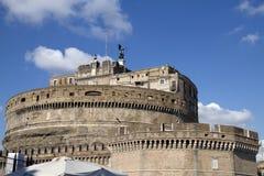 St. Angelo Castel, Рим, Италия Стоковые Фото