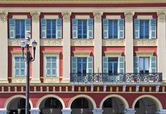 Фасад здания на месте Massena, славный Стоковые Изображения RF