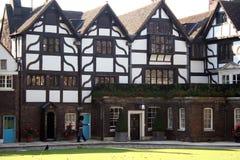 фасад здания привлекательно старомодный Стоковое Изображение