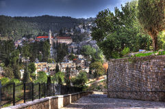 Фасад Иерусалима стоковое изображение rf