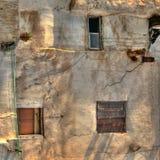 Фасад и окна в Каире Стоковая Фотография