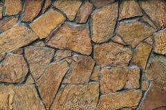Фасад каменной стены Стоковое фото RF