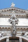 Фасад католического виска в Венеции Стоковые Фотографии RF