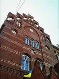 Фасад кирпича Стоковое Изображение RF
