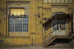Фасад кирпичной стены Стоковое Изображение RF