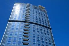 Фасад многоэтажного здания Стоковые Изображения RF