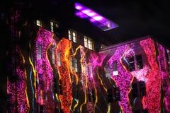 Фасад музея Сиднея современных искусств Стоковые Фотографии RF