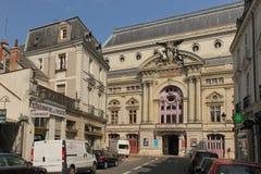 Фасад муниципального театра путешествия Франция стоковые фото