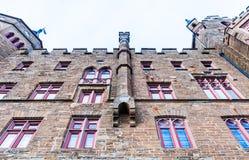 Фасад немецких замков. Стоковое фото RF
