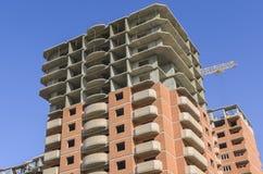 Фасад нового многоэтажного здания Стоковое Изображение RF