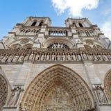 Нотр-Дам de Париж Стоковые Изображения RF