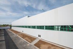 Фасад промышленного здания и склада Стоковые Изображения RF