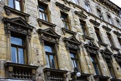 Фасад плохого состояния Стоковая Фотография