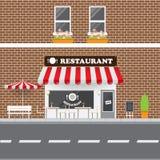 Фасад ресторана Стоковое фото RF