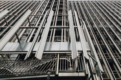 Фасад самомоднейшего офисного здания Стоковое фото RF