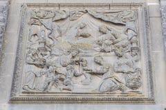Фасад собора Baeza, Jaen, Испания Стоковое Изображение