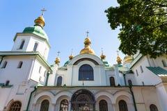 Фасад собора Sophia Святого в городе Киева Стоковое Фото
