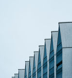 Фасад современного здания высок-техника Стоковая Фотография RF