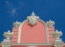 Фасад современного дома Стоковые Фотографии RF