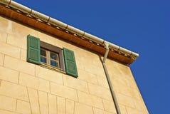 фасад среднеземноморской Стоковые Фото