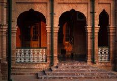Фасад старого здания Стоковое Изображение