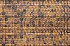 Фасад стены плитки стоковое изображение rf