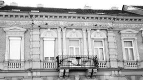 Фасад с балконами Стоковые Изображения
