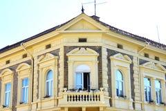 Фасад с балконом Стоковые Фото