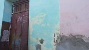 Фасад 3 Тринидада, Кубы Стоковые Изображения RF