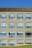 Фасад, университет Орхуса, Дания Стоковые Изображения RF