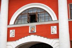 Фасад церков значка Казани Стоковое Изображение RF