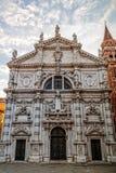 Фасад церков на Венеции стоковые фото