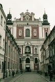 Фасад церков Fara Стоковое Изображение