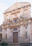 Фасад церков St Венедикта Стоковые Изображения RF