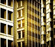 Фасады города Стоковые Изображения