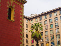 фасады стоковое изображение rf