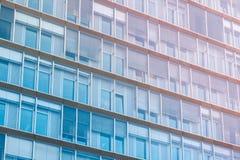Фасад Buidling - экстерьер офисного здания Стоковые Фото